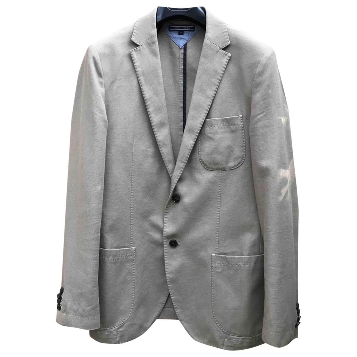 Tommy Hilfiger \N Beige Cotton jacket  for Men 50 IT