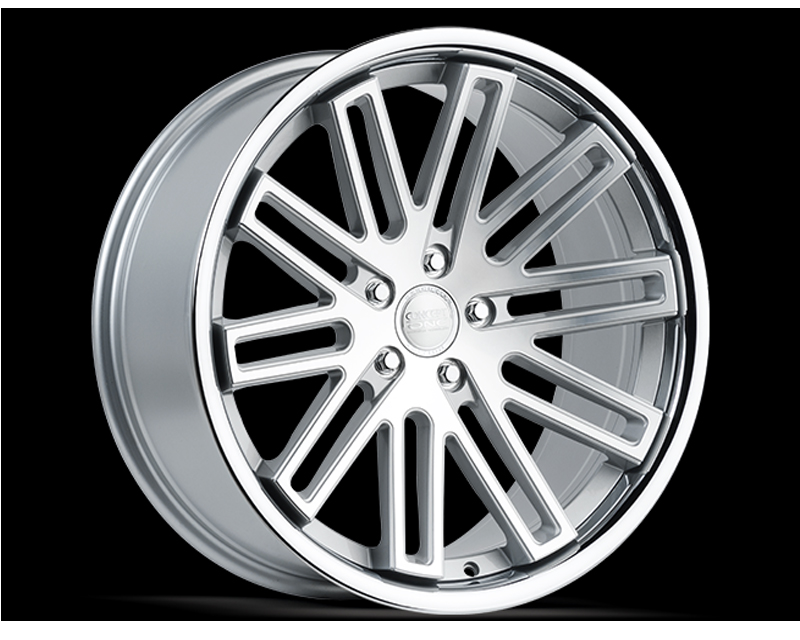 Concept One C1072A 20105 25 5D CSF CS20 Silver Wheel 20x10.5 5x120 25mm