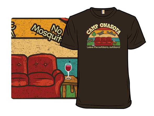 Camp Onasofa T Shirt