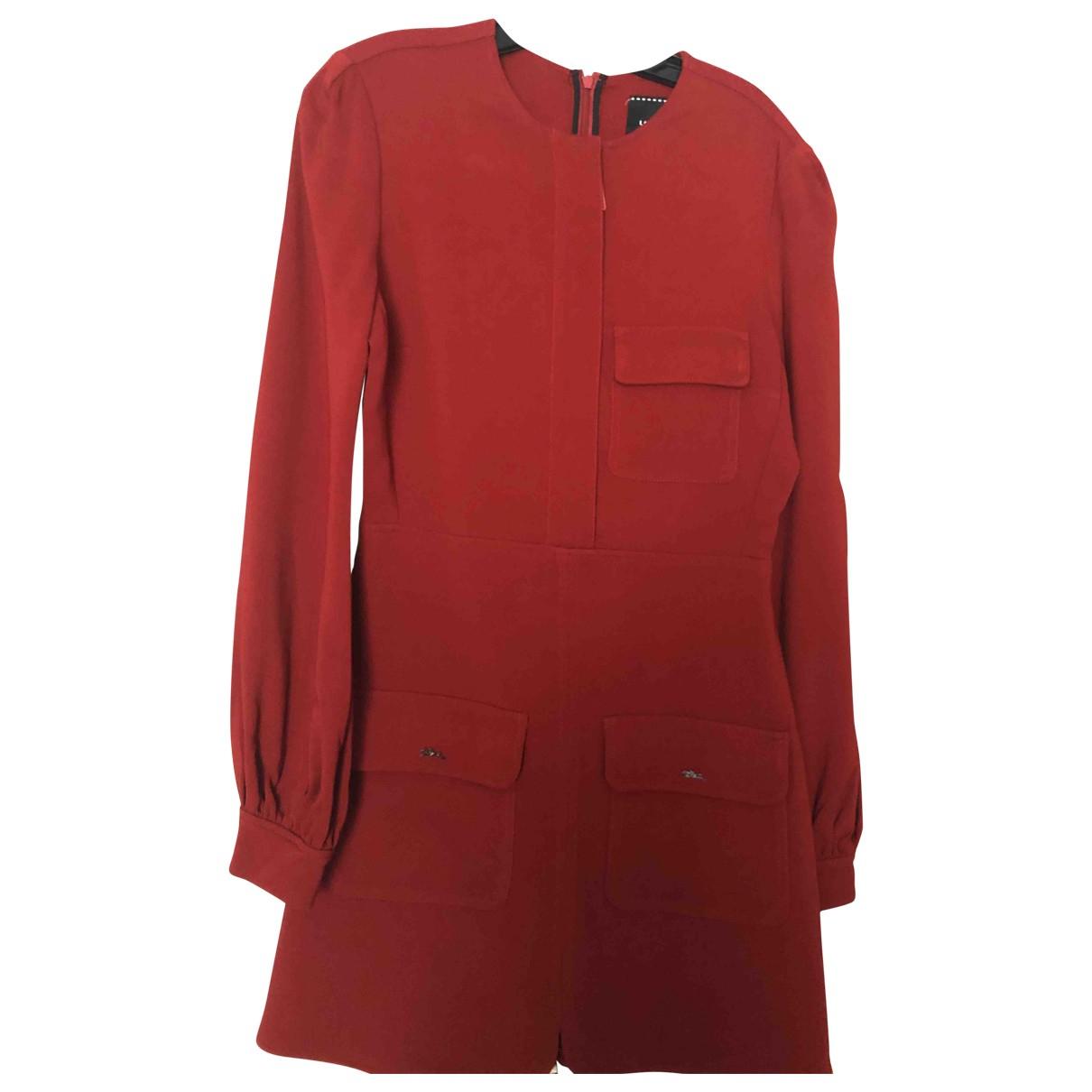Longchamp - Robe   pour femme - rouge