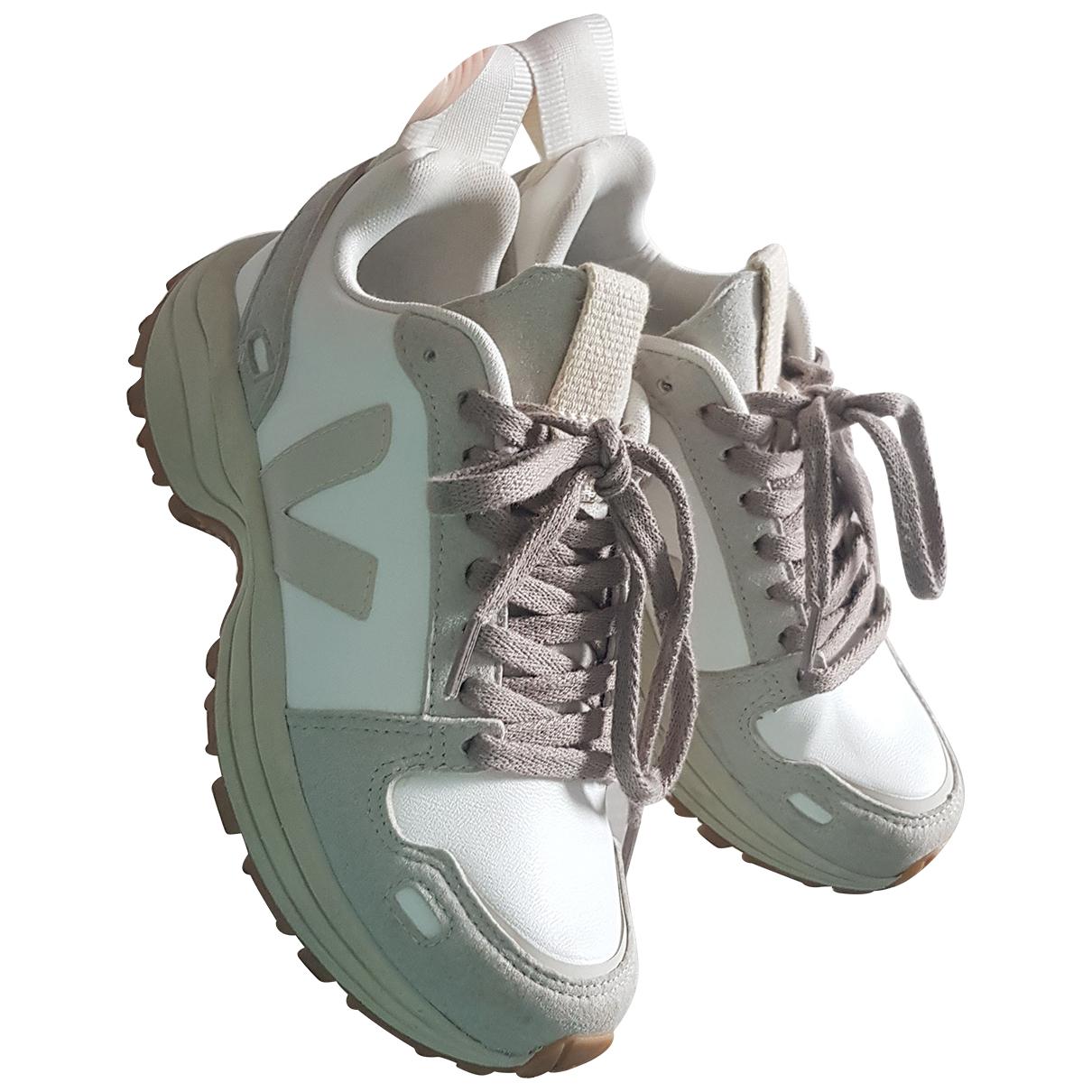 Rick Owens \N Sneakers in  Beige Polyester