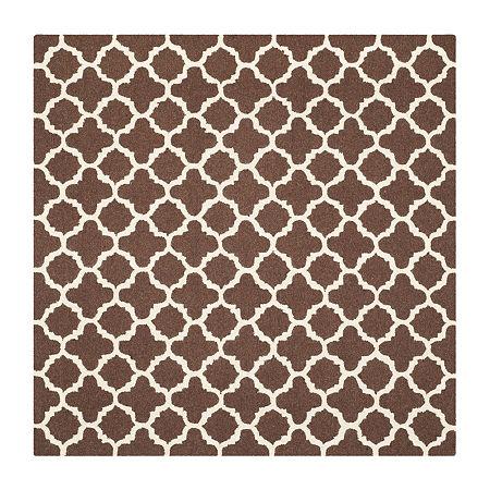 Safavieh Griselda Geometric Hand Tufted Wool Rug, One Size , Brown