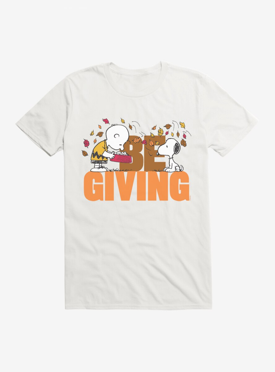 Peanuts Thanksgiving Be Giving T-Shirt