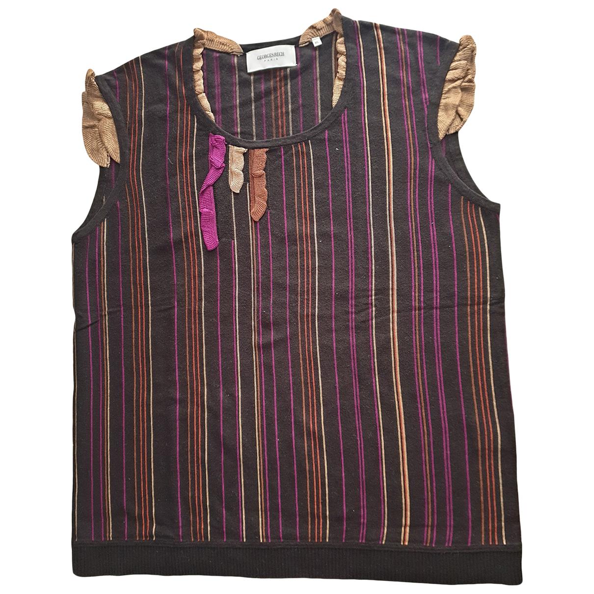 Georges Rech - Top   pour femme en coton - multicolore