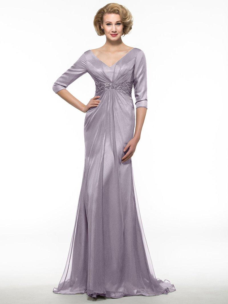 Ericdress Half Sleeves Mermaid Mother Of The Bride Dress