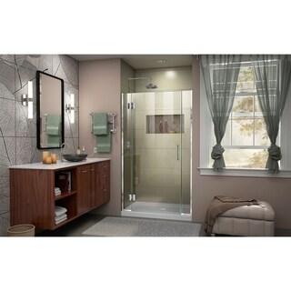 DreamLine Unidoor-X 37 1/2-38 in. W x 72 in. H Frameless Hinged Shower Door - 37.5