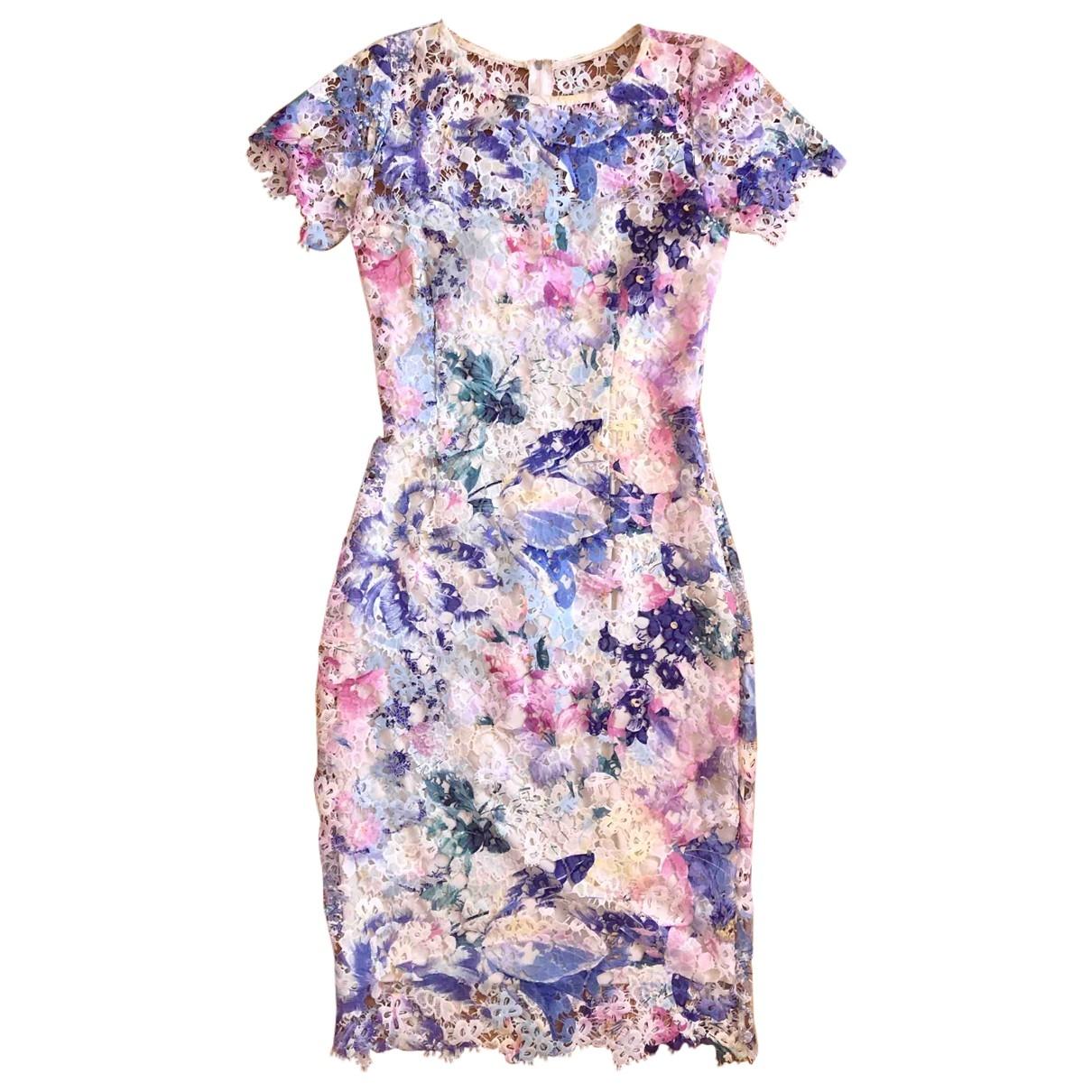Non Signé / Unsigned \N Multicolour Lace dress for Women 36 FR
