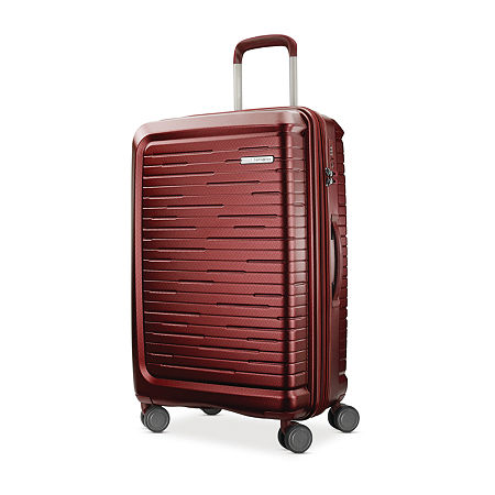Samsonite Silhouette 16 25 Inch Hardside Luggage, One Size , Red
