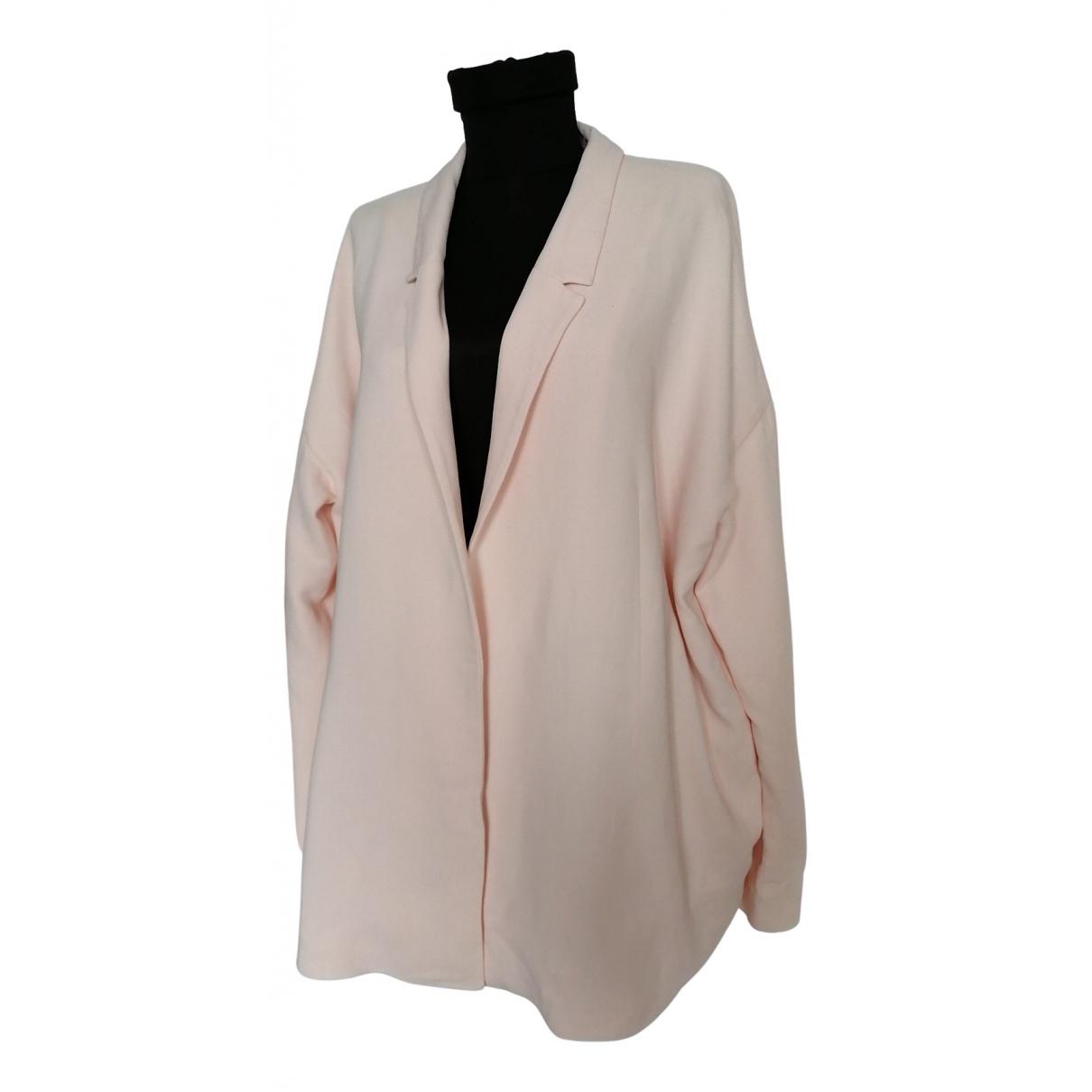 Cos - Veste   pour femme en coton - rose