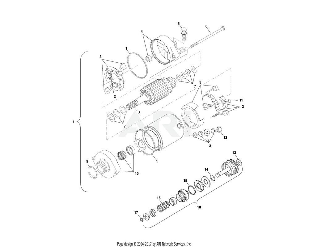 Polaris OEM 3086242 Carbon Brush Set | [Incl. 2, 11, 12]