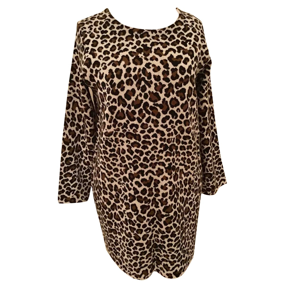 Max Mara Weekend - Robe   pour femme en laine - beige