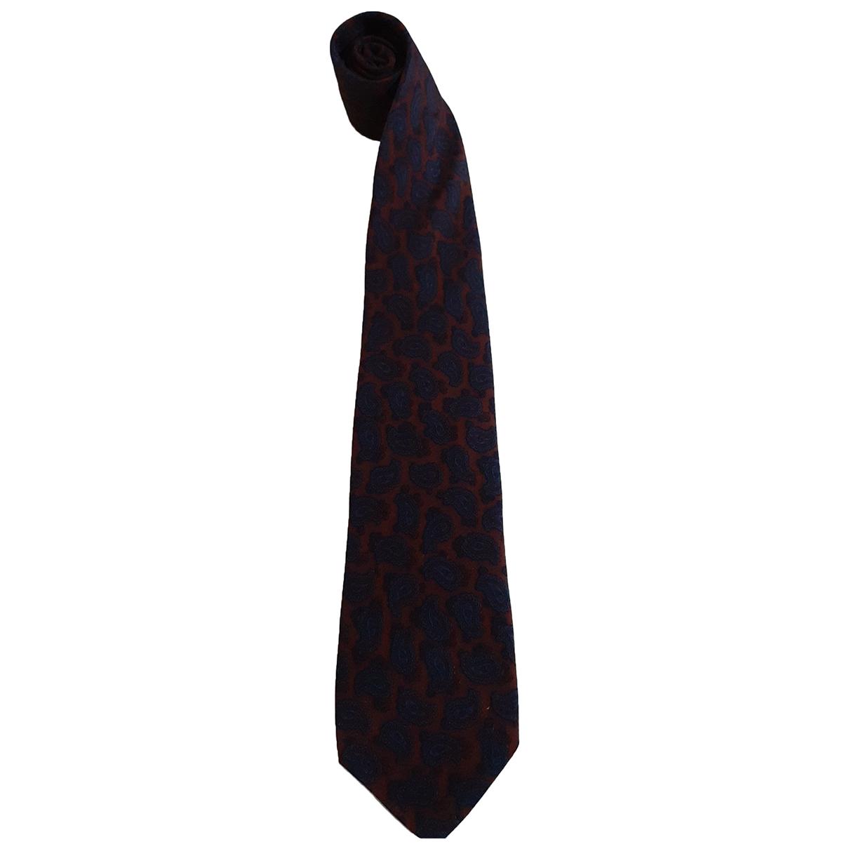 Yves Saint Laurent - Cravates   pour homme en soie - multicolore