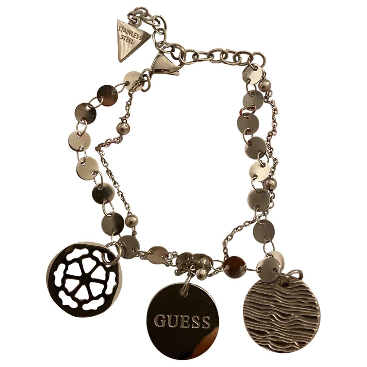 Guess - Bracelet   pour femme en argent - argente