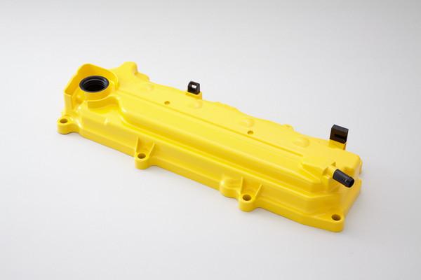 SPOON Sports 12310-GE8-Y00 Engine Valve Cover Yellow Honda CRZ 11-13