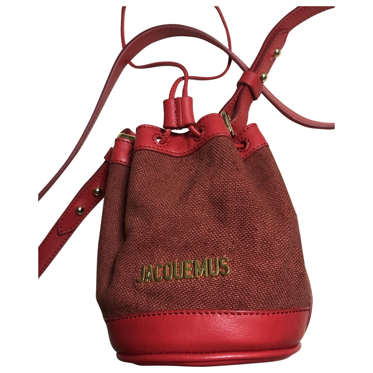 Jacquemus Le Petit Haqiba Red Cotton handbag for Women \N
