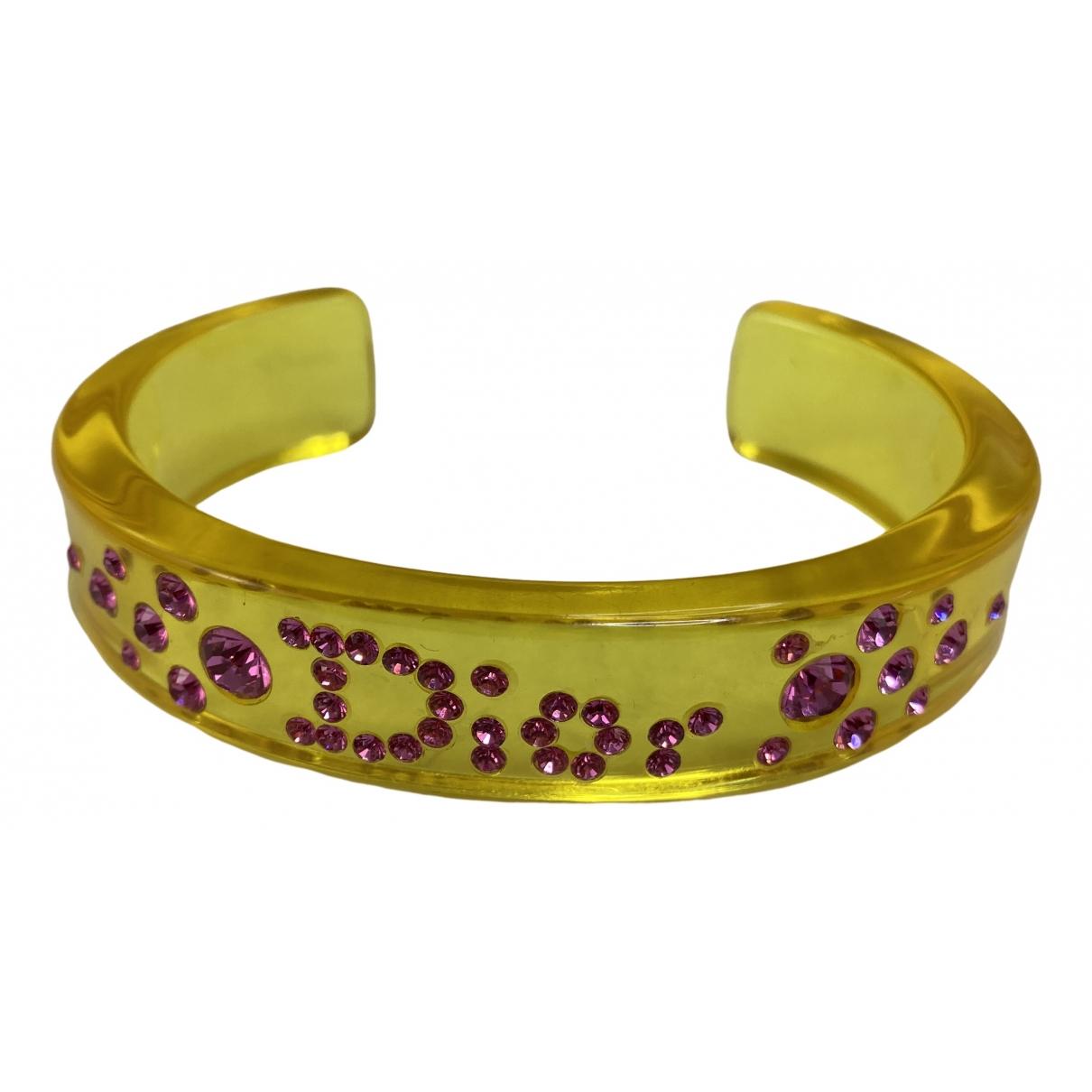 Dior - Bracelet   pour femme - jaune
