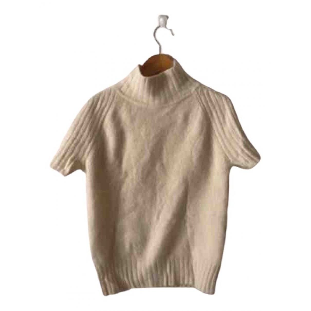 Mugler N Beige Cashmere Knitwear for Women 40 FR