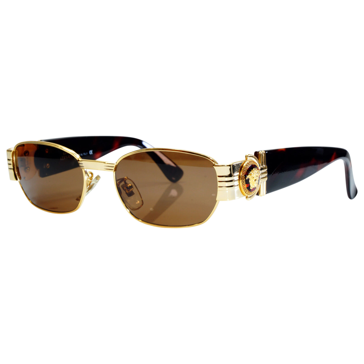 Gianni Versace \N Gold Metal Sunglasses for Women \N