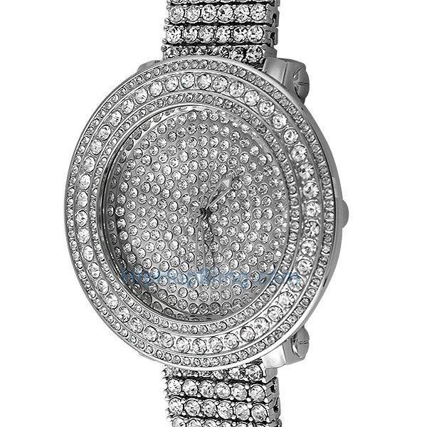 Bright Bling Bling Custom Watch & Band (8