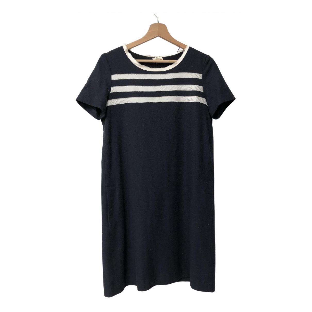 Pablo \N Navy Wool dress for Women 38 FR