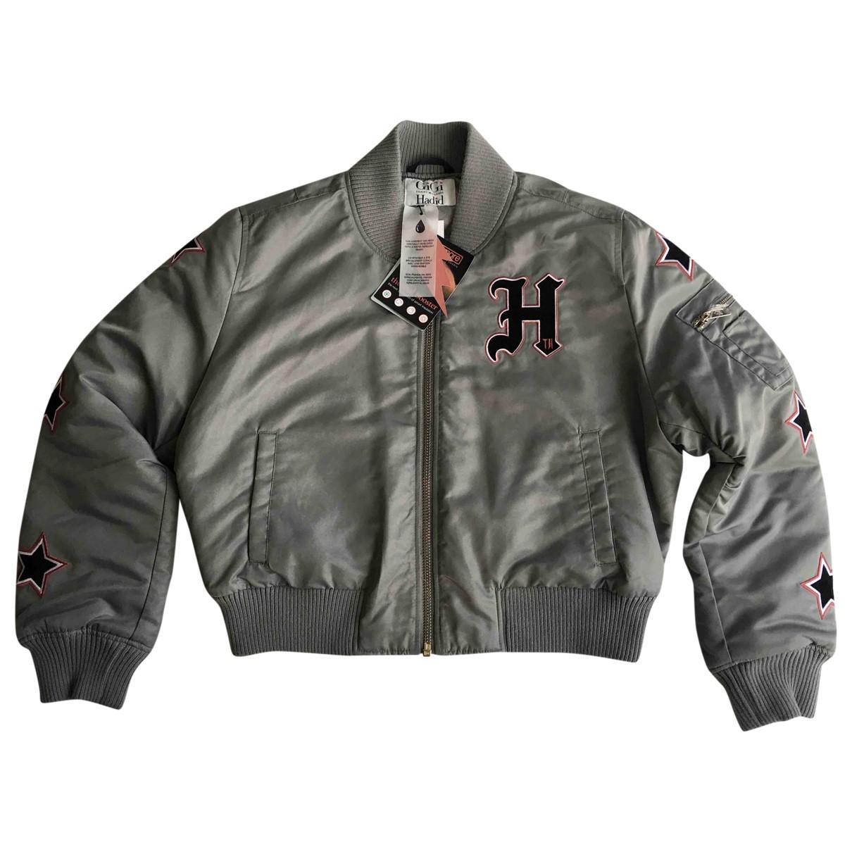 Gigi Hadid X Tommy Hilfiger - Veste   pour femme - gris
