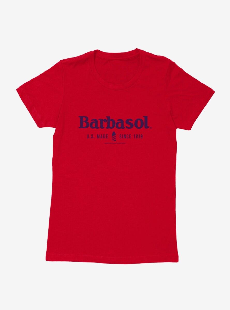 Barbasol Classic Logo Womens T-Shirt