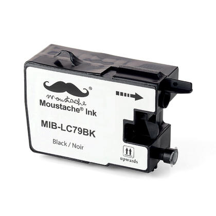 Compatible Brother MFC-J5910DW Black Ink Cartridge by Moustache, Extra High Yield