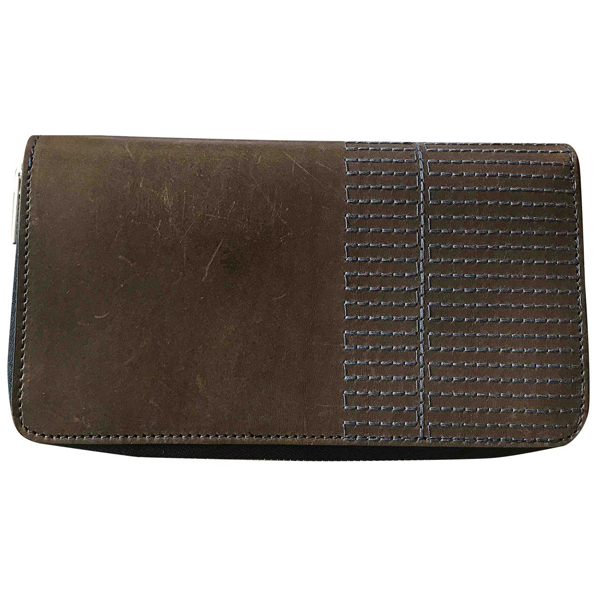 Rick Owens - Portefeuille   pour femme en cuir