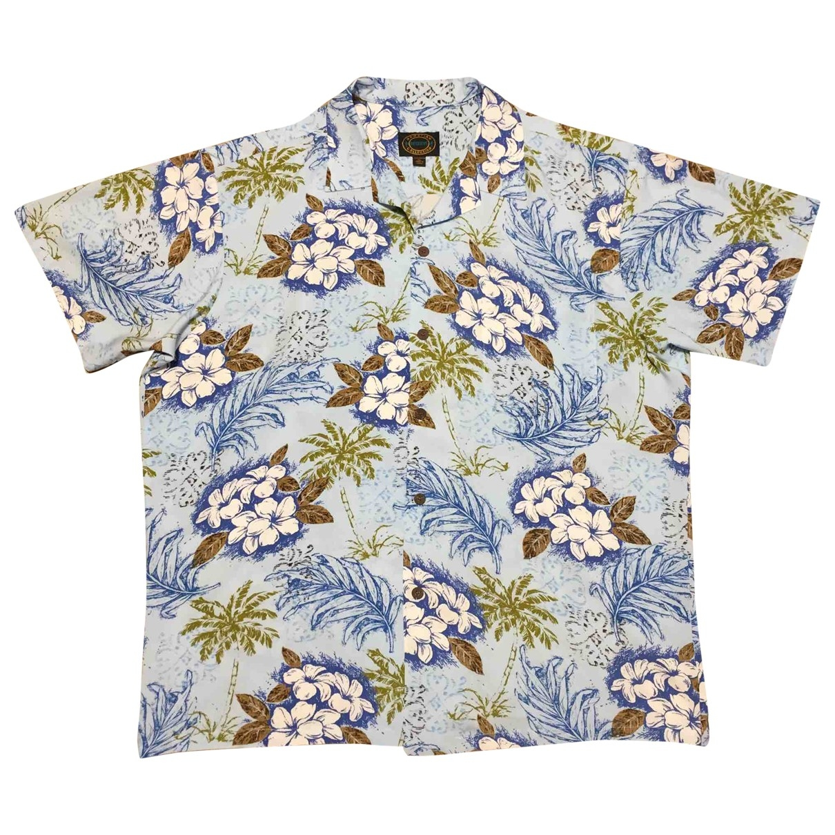 Non Signé / Unsigned \N Multicolour Cotton Shirts for Men XL International