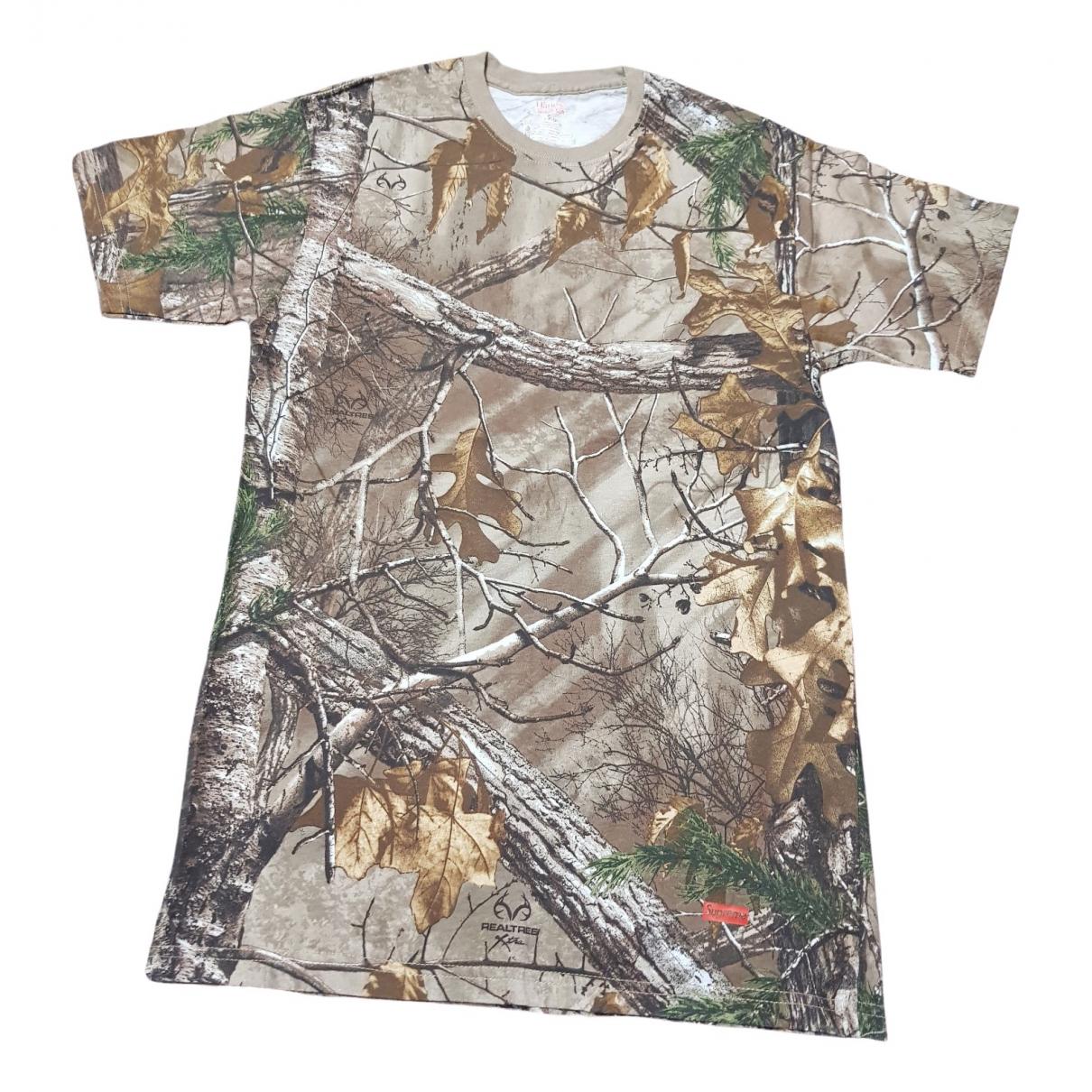 Supreme - Tee shirts   pour homme en coton