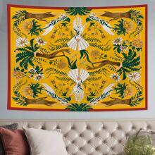 Teppich mit Pflanzen Muster