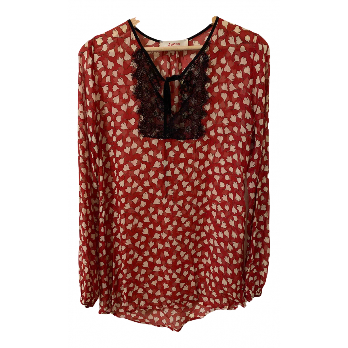 Jucca - Top   pour femme - rouge