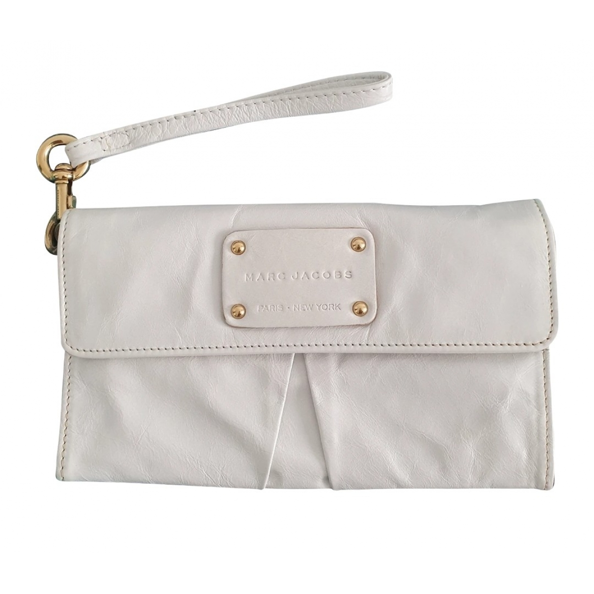 Marc Jacobs \N White Leather wallet for Women \N