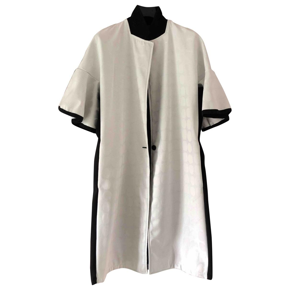 Non Signé / Unsigned Manche ballon White jacket for Women XL International