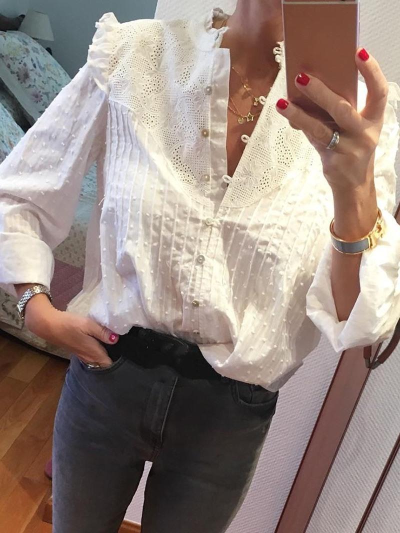 Ericdress Women's Standard Long Sleeve Blouse