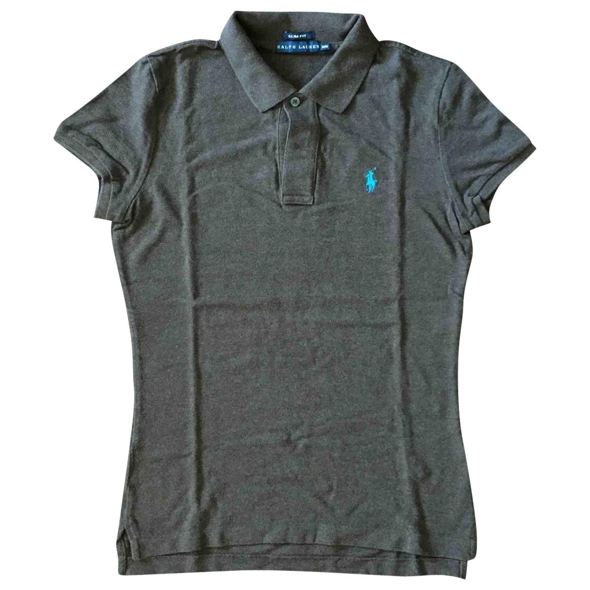 Ralph Lauren - Top   pour femme en coton - marron