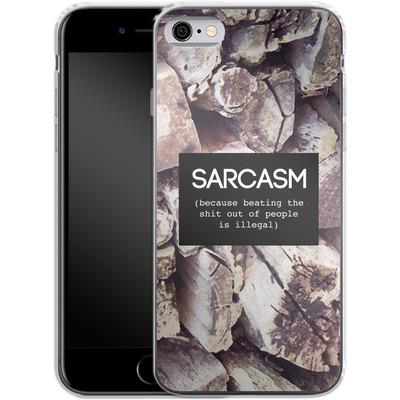 Apple iPhone 6s Silikon Handyhuelle - Sarcasm von Statements