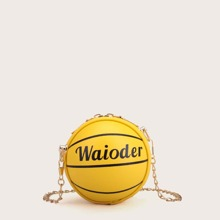 Mini Ball Shaped Chain Bag