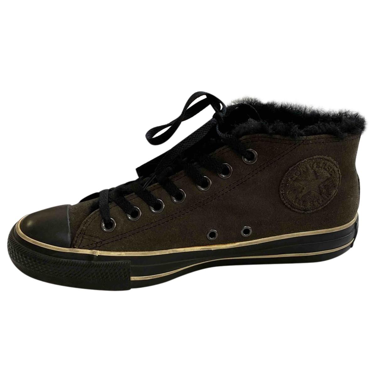 Converse \N Sneakers in Veloursleder