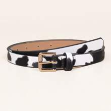 Kids Cow Pattern Belt