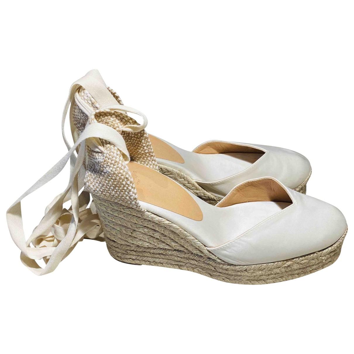 Castaner \N White Cloth Espadrilles for Women 39 EU
