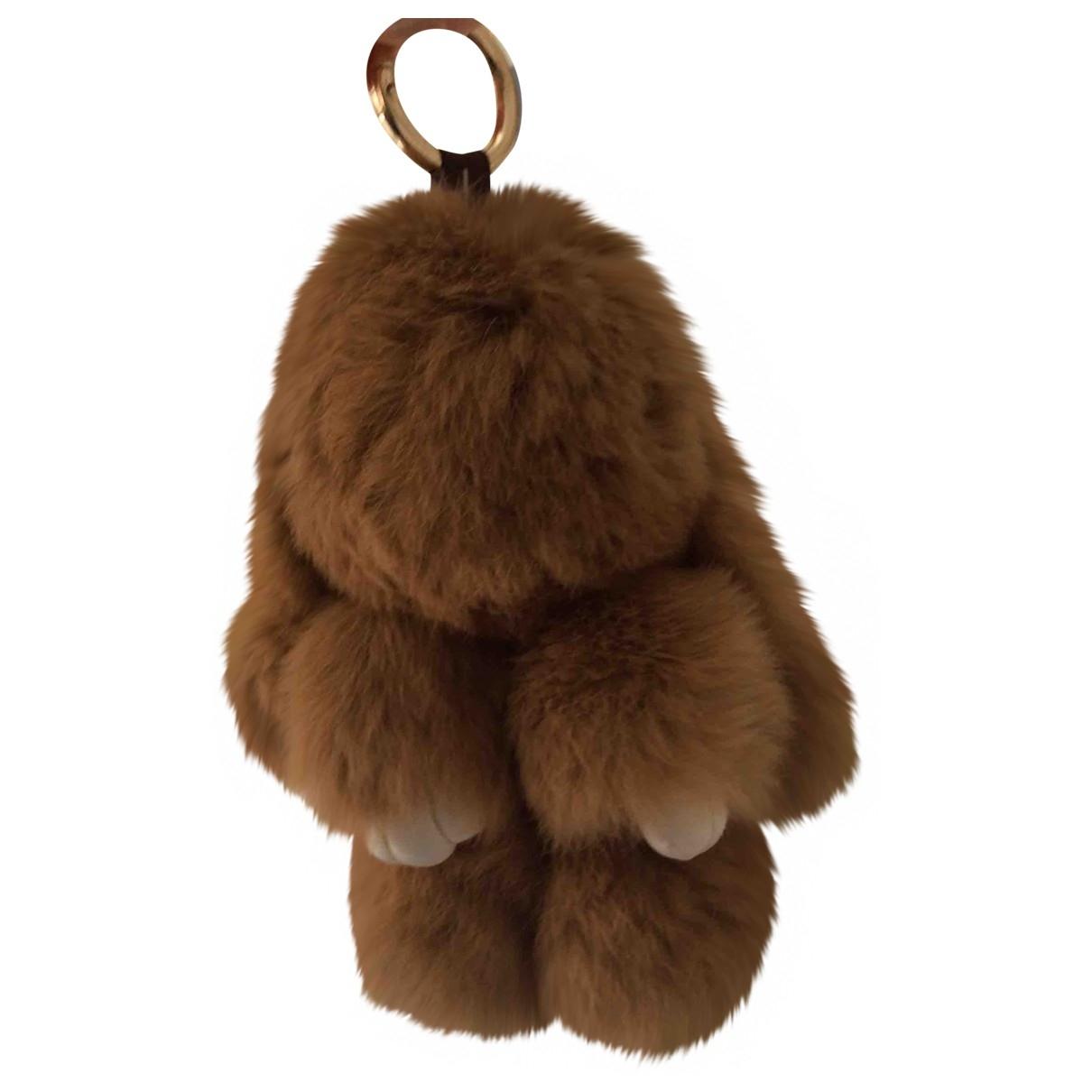 Kopenhagen Fur \N Beige Fur Purses, wallet & cases for Women \N