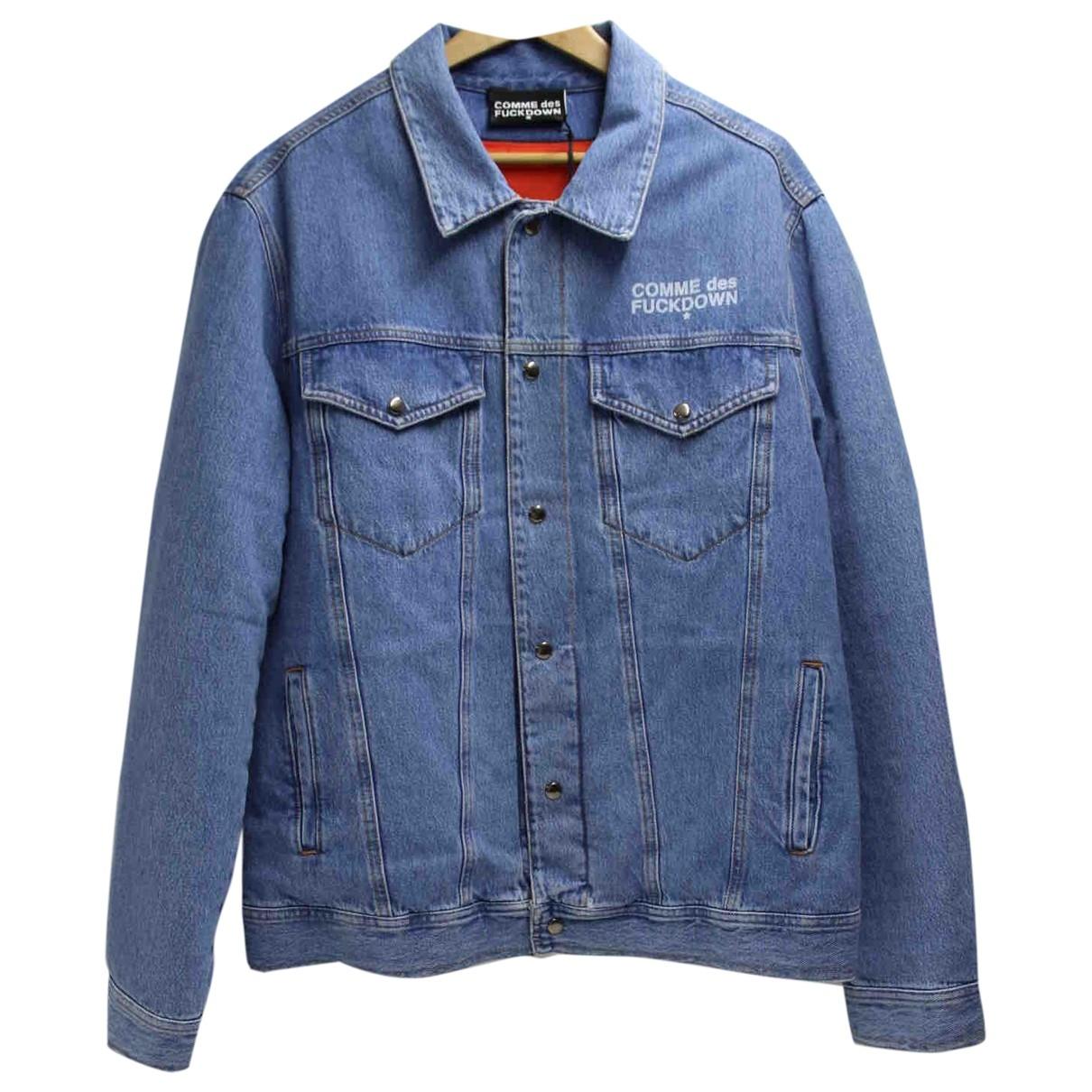 Comme Des Garcons \N Jacke in  Blau Denim - Jeans