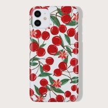 iPhone Schutzhuelle mit Kirsche Muster
