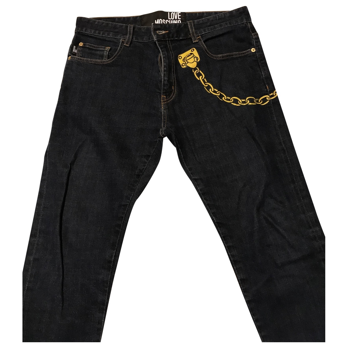 Moschino Love \N Blue Jeans for Men 32 US