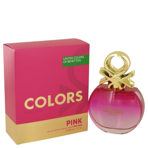 Colors Pink - Benetton Eau de toilette en espray 80 ml