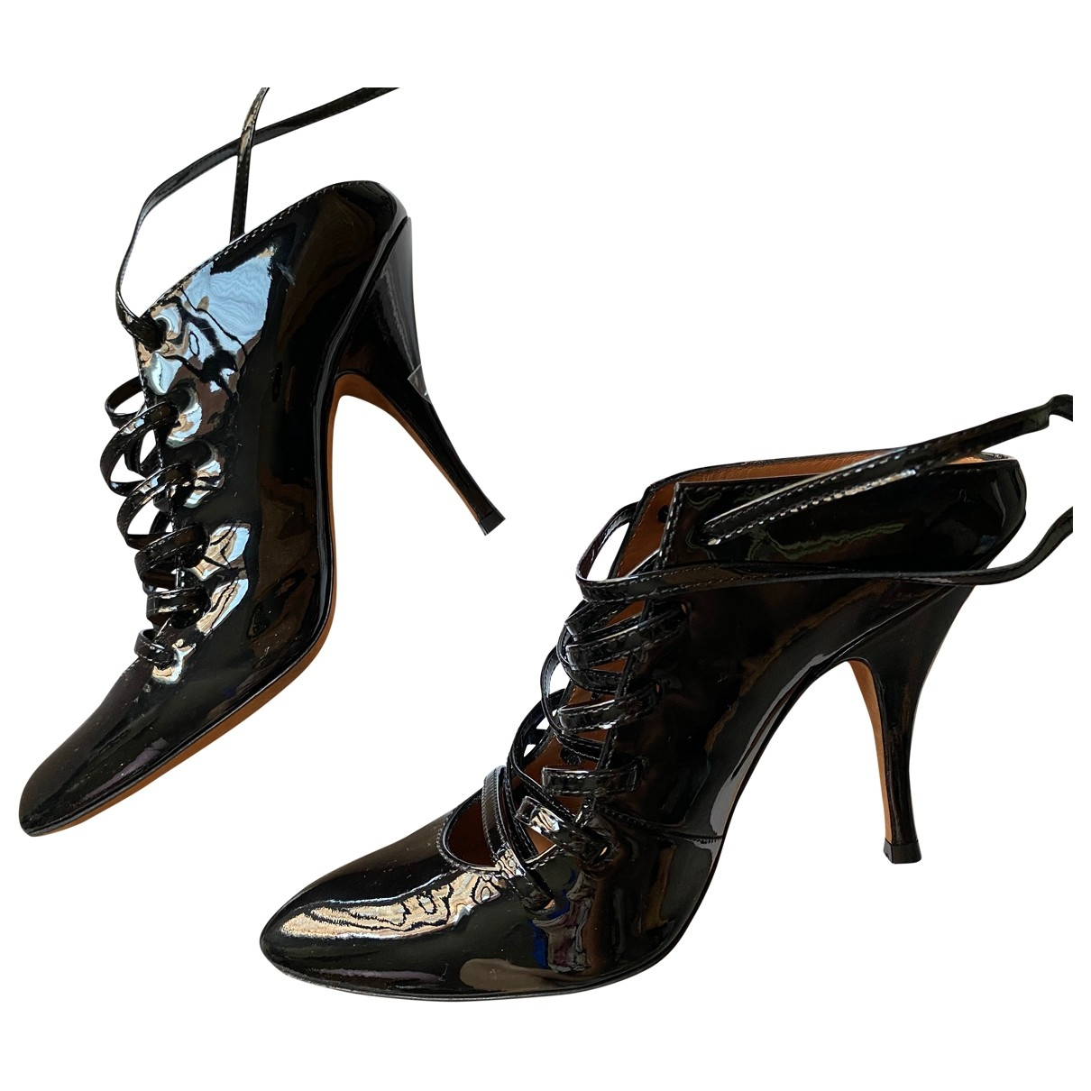 Givenchy \N Black Patent leather Heels for Women 36.5 EU