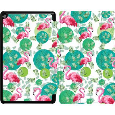 Amazon Fire HD 8 (2017) Tablet Smart Case - Flamingo Land von Mukta Lata Barua