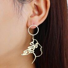 Figure Drop Earrings