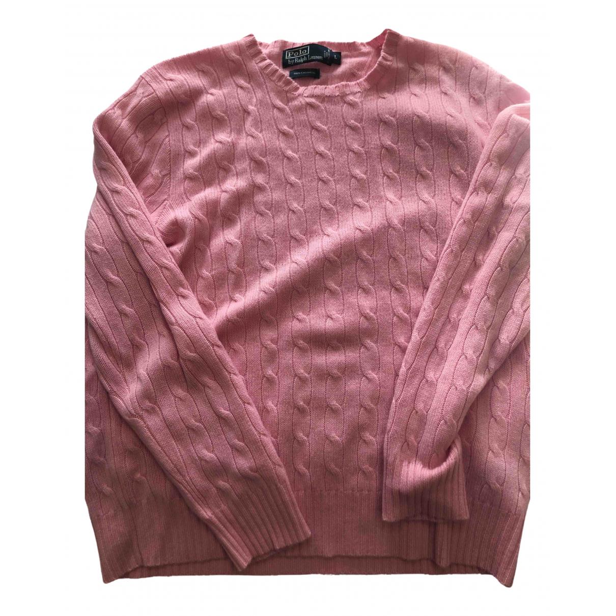 Polo Ralph Lauren \N Pullover.Westen.Sweatshirts  in  Rosa Kaschmir